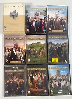 Downton Abbey Complete Series Seasons 1-6 DVD Box Set Special Finale Collection