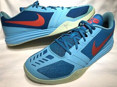 official photos 56a5c 6342c Nike Kobe Bryant Mentality Sz 13 Clearwater Blue Sneakers 704942-400
