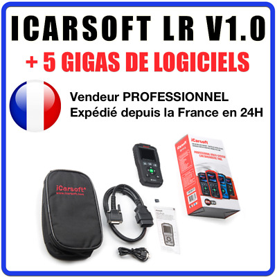 iCarsoft LR V1.0 - Diagnostic professionnel Land Rover / Jaguar - AUTOCOM DELPHI