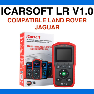 ✅ VALISE DIAGNOSTIC ICARSOFT LR V1.0 - Compatible Land Rover & Jaguar - Français