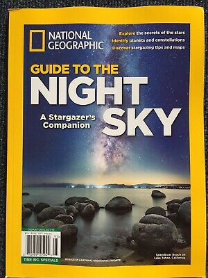 National Geographic GUIDE TO THE NIGHT SKY, A STARGAZER'S COMPANION Reissue
