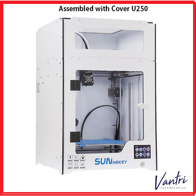 2018 Newest Arrival U250 Assembled Metal 3D Printer Sunhokey with Large Printing
