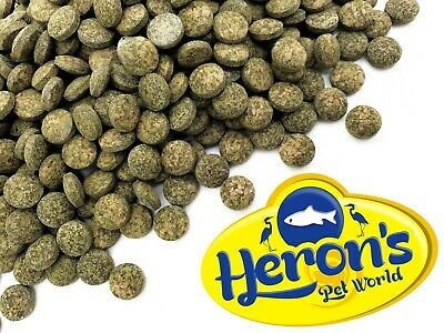 HERONS Spirulina Tablets Sinking TROPICAL FISH FOOD Cory Pleco Catfish Wafers