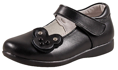 New Girl/'s WonderKids Kailey Mary Jane School Uniform Casual Shoes Black 40L