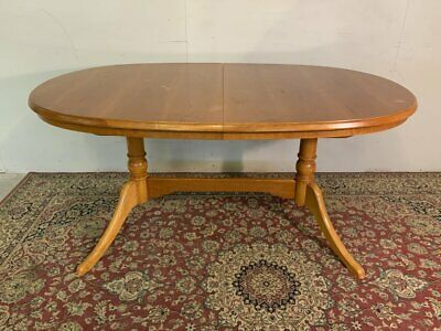 Retro Teak Extending Dining Table Seat Up To Six People - William Lawrence