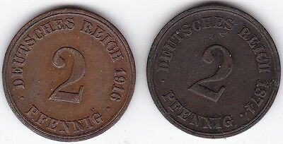 Germany 2 Pfennig Coins | Pennies2Pounds