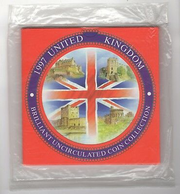 1997 UK Brilliant Uncirculated Coin Set | Sealed Bag | Pennies2Pounds