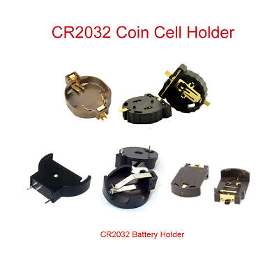 CR2032 Coin Cell Battery Holder With On-Off Switch Box 3V Lithium Battery Holder