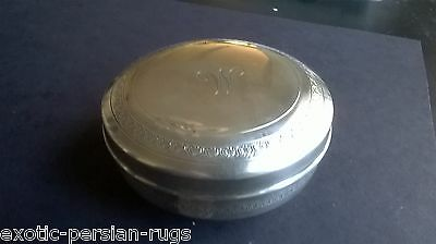 Beautiful  Egyptian Sterling Siver Box Or Covered Bowl