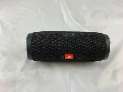 JBL Charge 3 Portable Waterproof Bluetooth Speaker (Black)