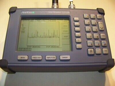 Nice Anritsu S332B Site Master w/new Screen, smart Battery,Charger Full Test!