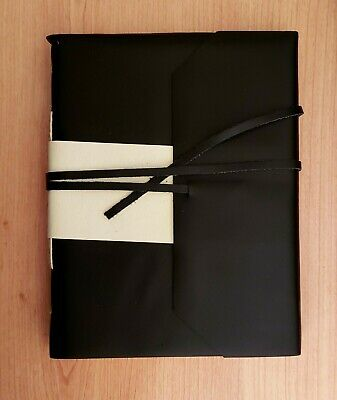 Handmade Genuine Leather Diary/Journal/Sketchbook - Black