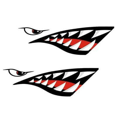 Shark Mouth Sticker For Bicycle Frames Head Tube Mtb Road