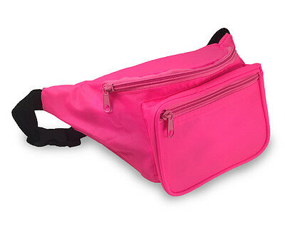 Fanny Pack / Stylish Waist Bag / Assorted Colors / 80's Style 3 Pockets / Hip
