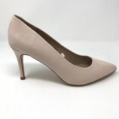 97ed46a929 A New Day Gemma Pointed Toe Heels Women's Size 7.5 Wide Mochaccino Blush NEW