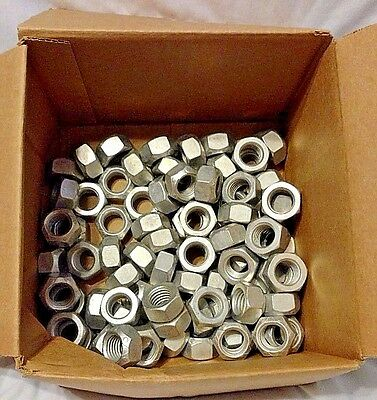 85 pcs NEW never used 3/4-10 Top lock nuts Fastenal Grade C Cadium 85pcs nut lot