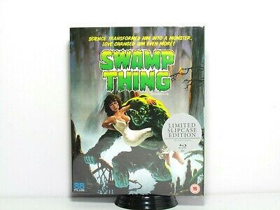 Swamp Thing Blu-Ray 88 Films With Slip Cover New Uk Region B Wes Craven
