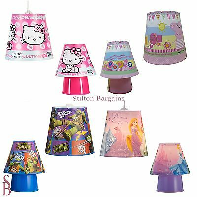 Children's 2 Piece Lighting Set - BNIP - Light Shade and Bedside Lamp