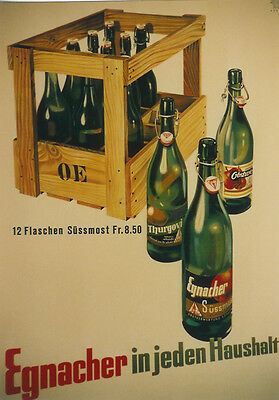 Original Plakat - Egnacher Süssmost