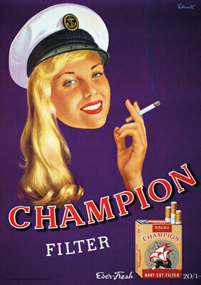 Original Plakat - CHAMPION FILTER - Virginia