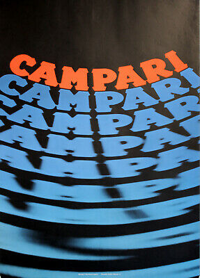Original Plakat - Campari
