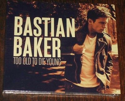 """New Album CD 12 Titres """"BASTIAN BAKER - Too Old To Die Young"""" [NEUF SOUS CELLO!]"""