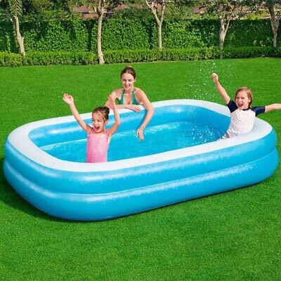 Large Inflatable Family Garden Outdoor Paddling Swimming Pool Fun Summer 778L