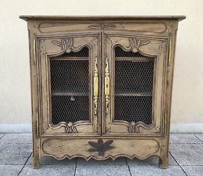 Antique French Buffet Side Board Country Cabinet In Solid Oak FREE DELIVERY