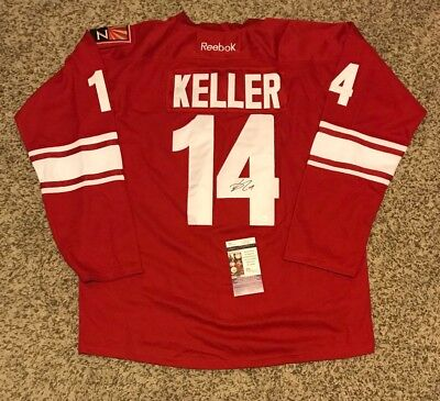 best sneakers 4f347 c315a CLAYTON KELLER ARIZONA Coyotes Signed Jersey Rookie Number ...