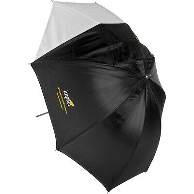 "Impact 32"" Black/White Photography Umbrella with Removable Cover!"