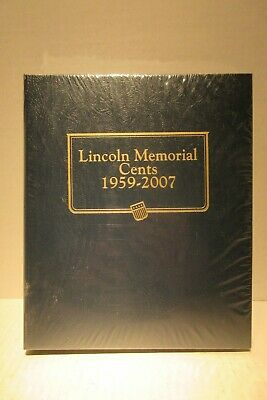 Whitman Classic Coin Album #9141 for Lincoln Memorial Cents 1959-2007-S 4 page