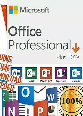 Unlimited ☆ Microsoft Office 2019 PRO License Key Professional + Authentic ☆