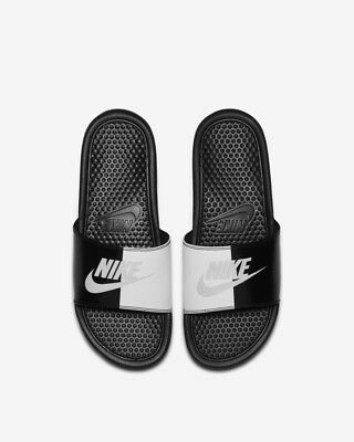 cheap for discount f13cd 21e24 Nike Benassi JDI Slides Black White Uk Size 12 Eur 47.5 343880-015