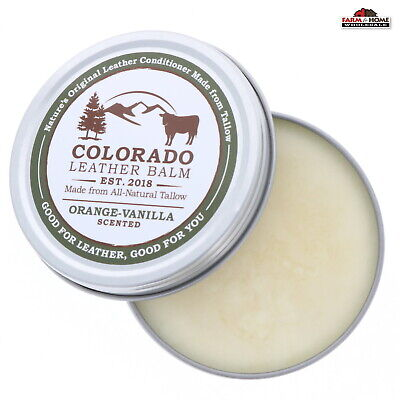 Tallow Leather Balm Conditioner 4oz ~ New