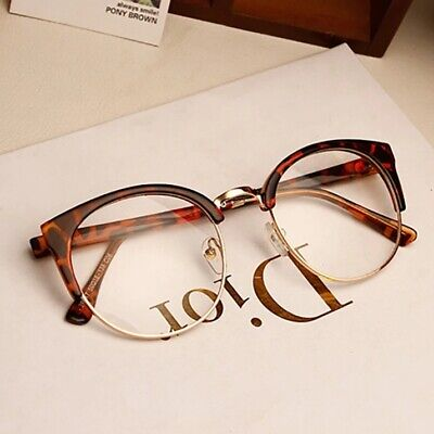 2019 Blue Light Filter Block UV Lens Computer Cat Eye Metal Frame Unisex Glasses