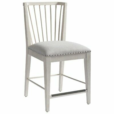 """Universal Furniture Bungalow 24"""" Windsor Counter Stool in Bluff"""