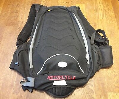 Quality Top Move Motorcyle Semi-Ridged Backpack..for Bikes,Touring,