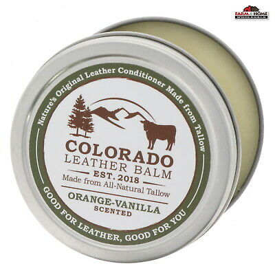 Tallow Leather Balm Conditioner 8oz ~ New