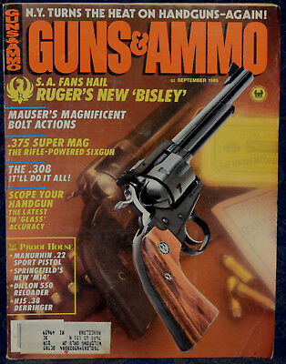MAGAZINE GUNS & AMMO Sep 2004 !KIMBER Pro Varmint  22LR RIFLE