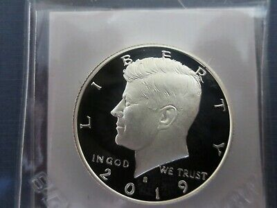 2019 S Kennedy SILVER Half Dollar, Perfect Gem Proof     99.9 SILVER?!