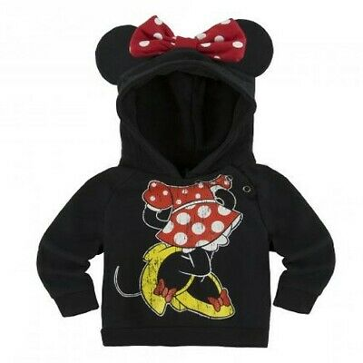 Disney Parks Minnie Mouse hooded sweatshirt for children size S