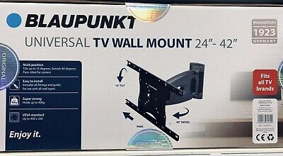 "Heavy Duty Universal TV Wall Mount Bracket 24""-42"""