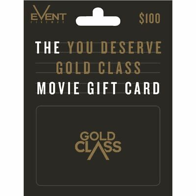Event Cinema Gift Card $100