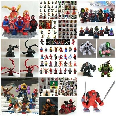 minifigure-avengers-marvel-lego-custom- infinity war-thanos -x-men- batman dc-tv
