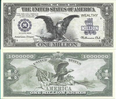 Usa Billete 1 Millon Dolares Aguila