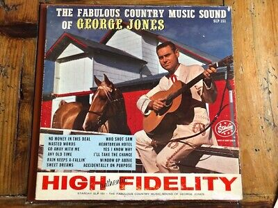 """The Fabulous Country Music Sound of GEORGE JONES"" Starday Vinyl SLP151 VG+/G"
