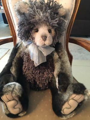 "Scrabble Charlie Bears 2017 Plumo *20"" New With Tags"