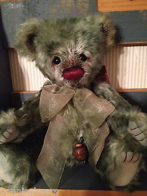 Charlie Bears PEAPOD 2011 Non UK Isabelle Mohair Collection FREE US SHIP