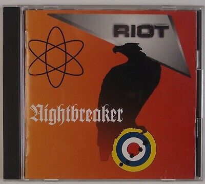 RIOT: Night Breaker '93 Sony Japan Only Original HEAVY METAL CD Rare