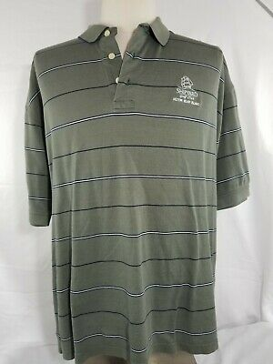 3b9ca3e5cce7f TOMMY HILFIGER MENS Size Large Shipyard Golf Club Hilton Head Island ...